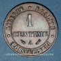 Münzen 3e république (1870-1940). 1 centime Cérès, 1889A