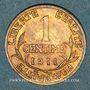 Münzen 3e république (1870-1940). 1 centime Dupuis, 1911