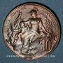 Münzen 3e république (1870-1940). 10 centimes Dupuis, 1912