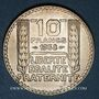 Münzen 3e république (1870-1940). 10 francs Turin 1938