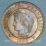 Münzen 3e république (1870-1940). 2 centimes Cérès, 1884A