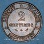 Münzen 3e république (1870-1940). 2 centimes Cérès, 1888A