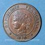 Münzen 3e république (1870-1940). 2 centimes Cérès, 1890A