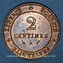 Münzen 3e république (1870-1940). 2 centimes Cérès, 1891A