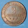 Münzen 3e république (1870-1940). 2 centimes Cérès, 1892A