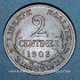 Münzen 3e république (1870-1940). 2 centimes Dupuis, 1903