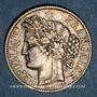 Münzen 3e république (1870-1940). 2 francs Cérès, 1887A