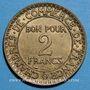 Münzen 3e république (1870-1940). 2 francs Chambre de commerce 1922