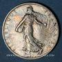 Münzen 3e république (1870-1940). 2 francs Semeuse 1909