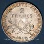 Münzen 3e république (1870-1940). 2 francs Semeuse 1910