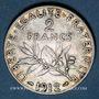Münzen 3e république (1870-1940). 2 francs Semeuse 1912