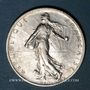Münzen 3e république (1870-1940). 2 francs Semeuse 1914C. Castelsarrasin