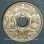 Münzen 3e république (1870-1940). 25 centimes Lindauer 1928