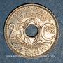 Münzen 3e république (1870-1940). 25 centimes Lindauer 1930