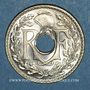 Münzen 3e république (1870-1940). 25 centimes Lindauer 1938