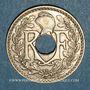Münzen 3e république (1870-1940). 25 centimes Lindauer, type souligné, 1914