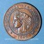 Münzen 3e république (1870-1940). 5 centimes Cérès, 1897A. Torche