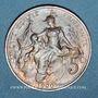Münzen 3e république (1870-1940). 5 centimes Dupuis, 1900