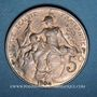 Münzen 3e république (1870-1940). 5 centimes Dupuis, 1904