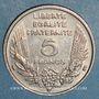Münzen 3e république (1870-1940). 5 francs Bazor 1933
