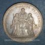 Münzen 3e république (1870-1940). 5 francs Hercule 1873A