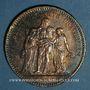 Münzen 3e république (1870-1940). 5 francs Hercule 1876 A