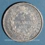 Münzen 3e république (1870-1940). 5 francs Hercule, 1876A