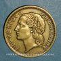 Münzen 3e république (1870-1940). 5 francs Lavrillier bronze d'aluminium 1939