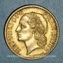 Münzen 3e république (1870-1940). 5 francs Lavrillier bronze d'aluminium 1940