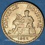 Münzen 3e république (1870-1940). 50 centimes Chambre de commerce 1922