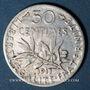 Münzen 3e république (1870-1940). 50 centimes Semeuse 1911