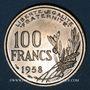 Münzen 4e république (1947-1959). 100 francs Cochet 1958