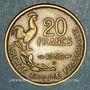 Münzen 4e république (1947-1959). 20 francs Georges Guiraud 1950 B. 3 faucilles