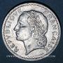 Münzen 4e république (1947-1959). 5 francs Lavrillier aluminium 1949