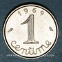 Münzen 5e république (1959- /). 1 centime épi 1969. 2e 9 queue longue