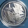 Münzen 5e république (1959- ). 1 franc 1993. Cinquantenaire du débarquement