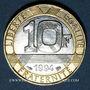 Münzen 5e république (1959- ). 10 francs 1994 Génie de la Bastille, abeille