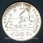 Münzen 5e république (1959- ). 100 francs 1991, Descartes