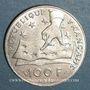 Münzen 5e république (1959- ). 100 francs 1991 Descartes