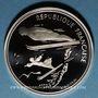 Münzen 5e république (1959-). 100 francs 1991 J.O. Albertville 1992. Saut à ski moderne / Belle Epoque