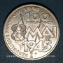 Münzen 5e république (1959- ). 100 francs 1995. Commémoration de l'Armistice