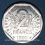 Münzen 5e république (1959- ). 2 francs Semeuse 1990