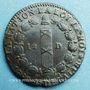 Münzen Constitution (1791-1792). 12 deniers 1792A, an 4. Type FRANCOIS, rosette