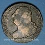 Münzen Constitution (1791-1792). 2 sols 1792AA Metz, type FRANCOIS. Métal de cloche