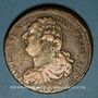 Münzen Constitution (1791-1792). 2 sols 1792BB. Strasbourg. Type FRANCAIS. Cuivre