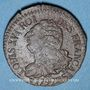 Münzen Constitution (1791-1792). 3 deniers 1792BB. Strasbourg. Type FRANCAIS. Cuivre