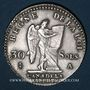Münzen Constitution (1791-1792). 30 sols 1792A, 2e semestre, type FRANCOIS