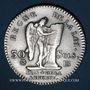 Münzen Constitution (1791-1792). 30 sols 1792BB. Strasbourg. 1er semestre. Type FRANCAIS