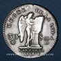 Münzen Constitution (1791-1792). 30 sols 1792BB. Strasbourg. 2e semestre. Type FRANCAIS