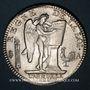 Münzen Constitution (1791-1792). Ecu de 6 livres, type FRANCOIS 1792A, 2e semestre